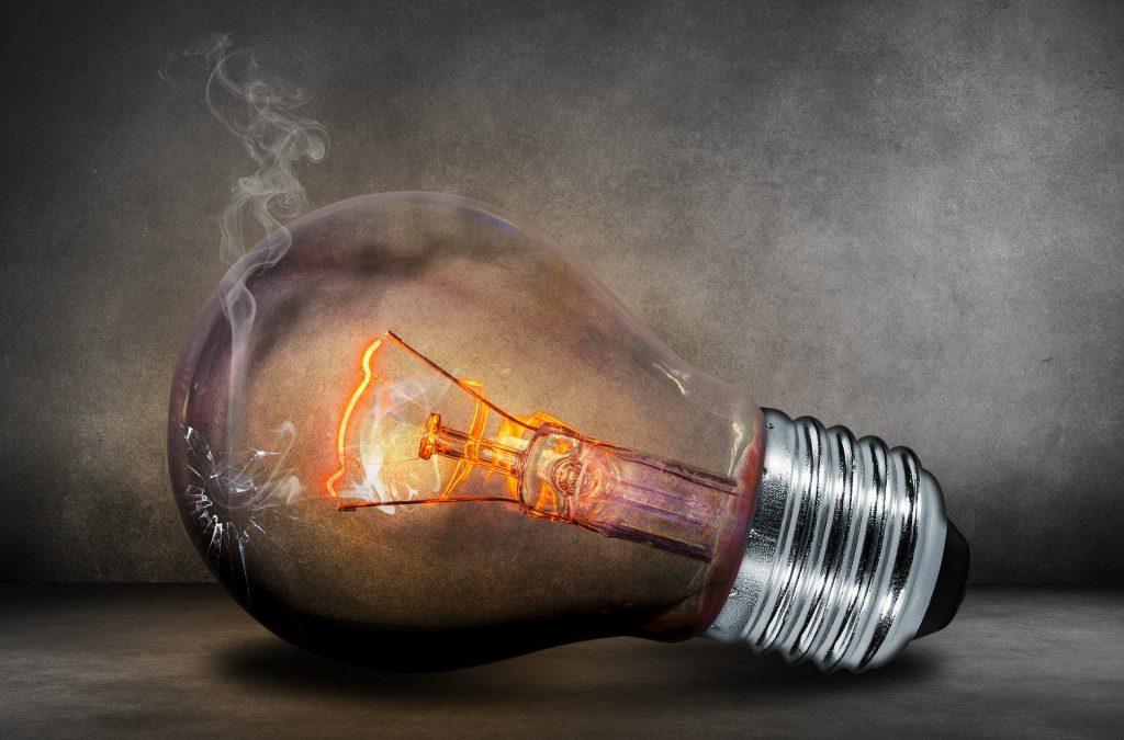 lampen weggooien